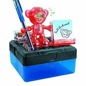 Science Kit Electric Kids Monkey Alarm Clock Robot